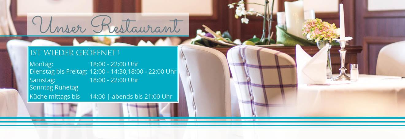 Restaurant Steuermann wieder geöffnet